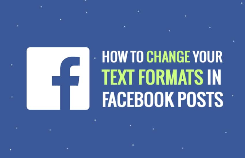 Photo of How to do Facebook text formatting?