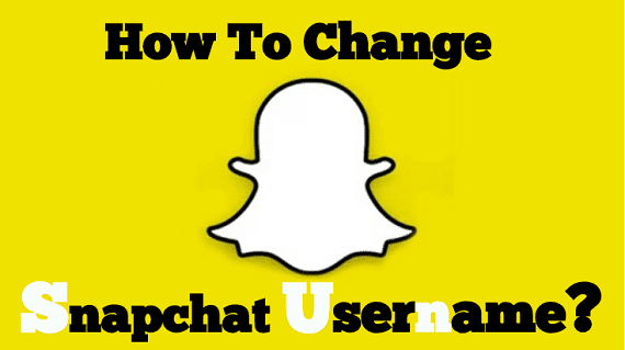 Photo of How to change Snapchat Username?