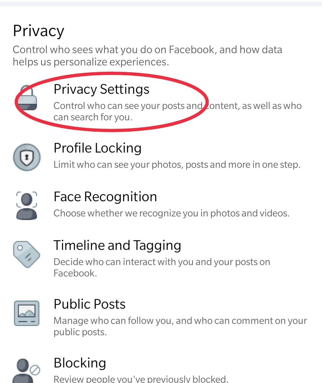 How to hide friend list on Facebook from mobile