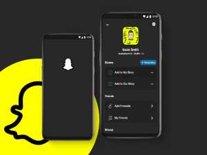 enable snapchat dark mode