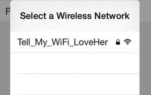 Tell My Wi-Fi Love Her